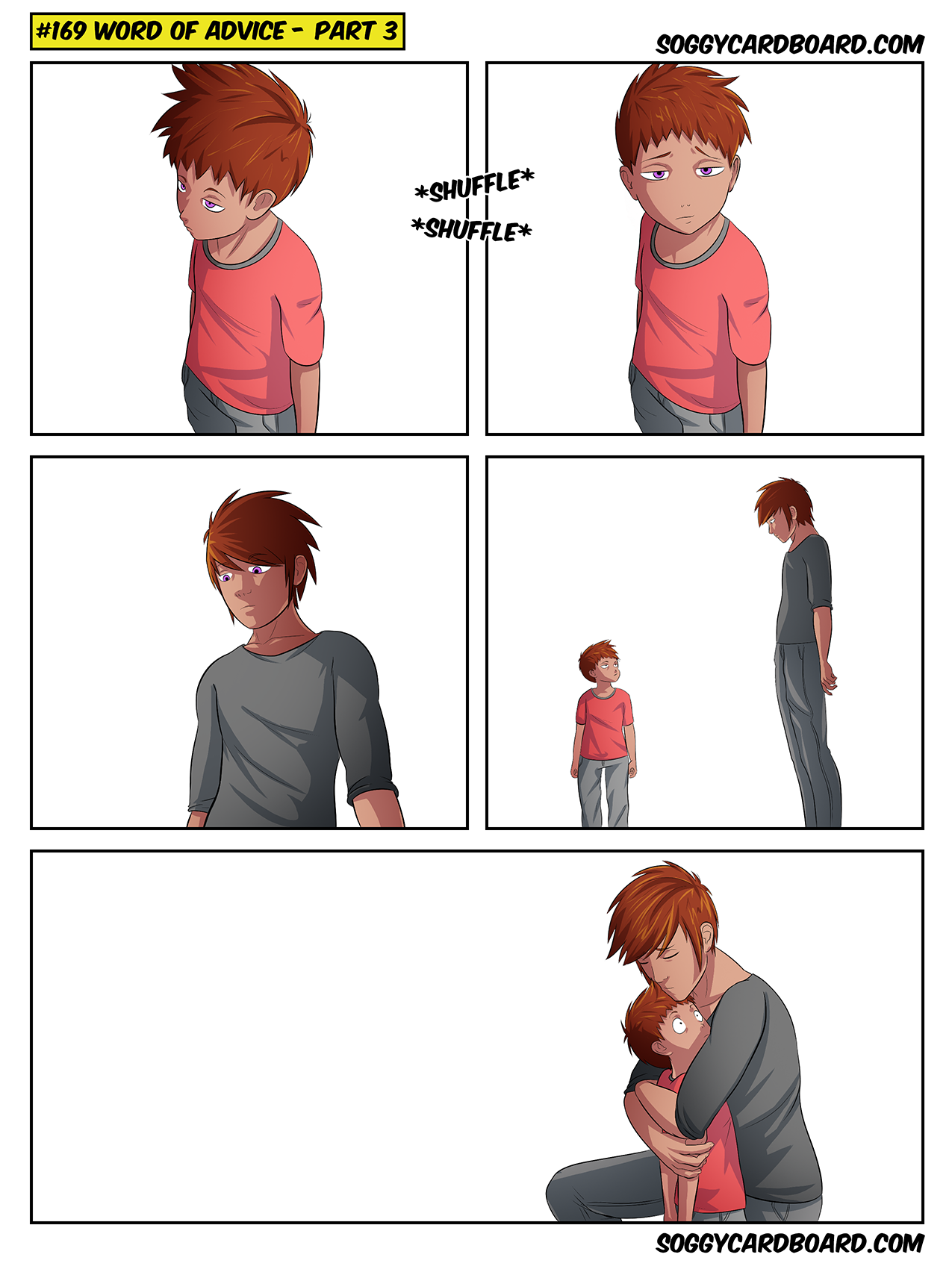 Why is this comic completely blank?